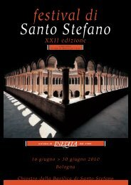 festival di Santo Stefano XXII edizione - ASSO - Ingegneri e Architetti