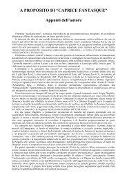 """A PROPOSITO DI """"CAPRICE FANTASQUE"""" Appunti ... - Mario Totaro"""