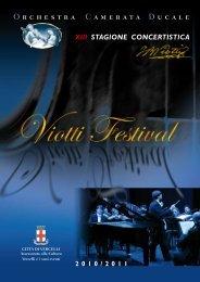 O rchestra C amerata D ucale - Viotti Festival