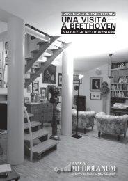 Programma di sala - storia, arte, musica