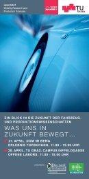 open:lab2 'Was uns in Zukunft bewegt' - TU Graz on iTunes U