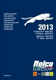 Price list PDF - Relco Group