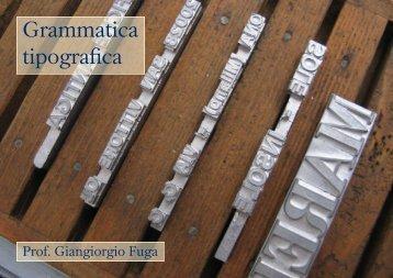 Effetti e correzioni ottiche nel disegno dei caratteri tipografici - BeeP