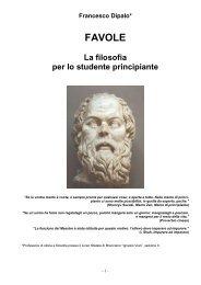 Favole. La filosofia per lo studente principiante - consulentefilosofico.it