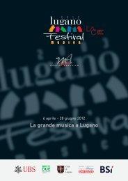 La grande musica a Lugano - Lugano Turismo
