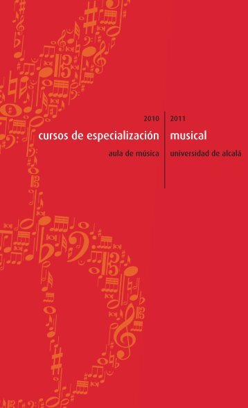 CURSOS ESPECIALIZACION MUSICAL 10-11 ... - Aula de Música