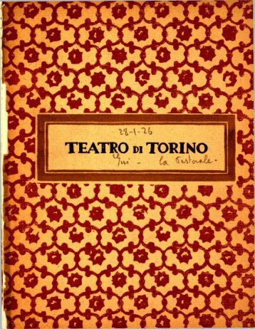 TEATRO pi TORINO