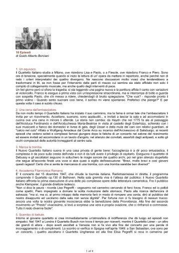 18 Episodi€ di Guido Alberto Borciani - Quartetto Italiano