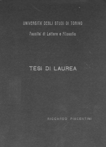 tesi di laurea sui concerti per orchestra di Goffredo Petrassi