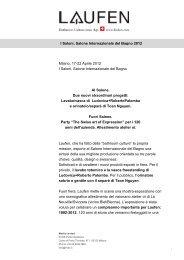 Comunicato stampa Salone del Mobile 2012.pdf - Laufen