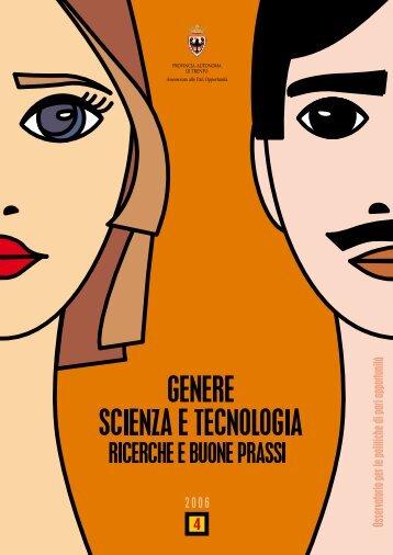 Genere Scienza e Tecnologia - Pari opportunità - Provincia ...