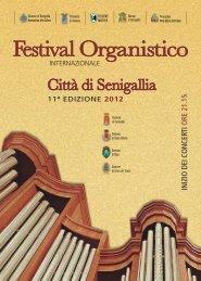 Programma completo - Festival Organistico Internazionale Senigallia