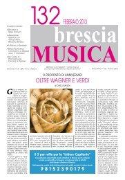 bresciaMUSICA 132 Febbraio 2013 ( PDF 2,5 Mb) - Isidoro Capitanio