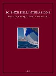Scienze dell'Interazione anno 2011 n.2 - Scuola di specializzazione ...