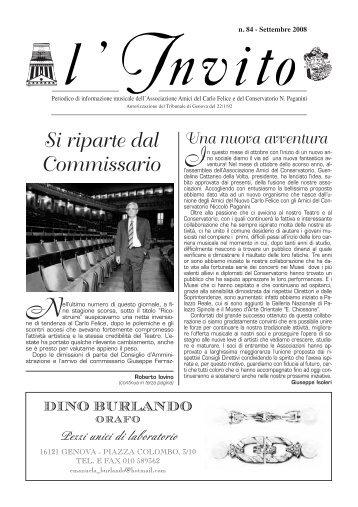 """""""L'Invito"""" settembre 2008 1238 Kb - Associazione Amici del Carlo ..."""