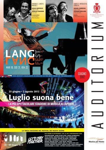 06/2012 - Auditorium Parco della Musica