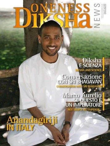 Anno II - marzo 2007 - Oneness Meditation Center Treviso