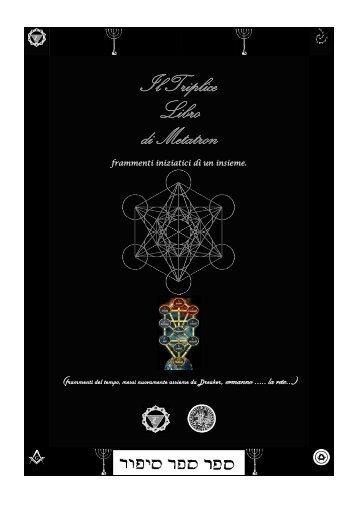 Il Triplice Libro di Metatron - Runelore