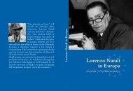 Lorenzo Natali in Europa: ricordi e testimonianze - Istituto Affari ...
