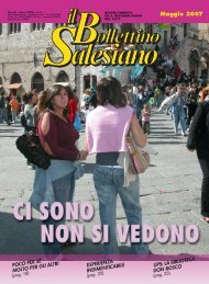 BS MAGGIO 2007 - il bollettino salesiano - Don Bosco nel Mondo