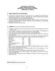 Gli studenti valutano il CLA (formato pdf) - Centro Linguistico d'Ateneo