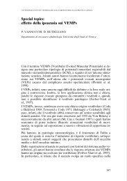 I VEMPs in Letteratura - AOOI