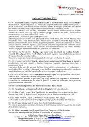 sabato 27 ottobre 2012 - Salone del Gusto