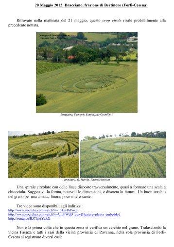 versione in PDF - click qui - crop circles, cerchi nel grano