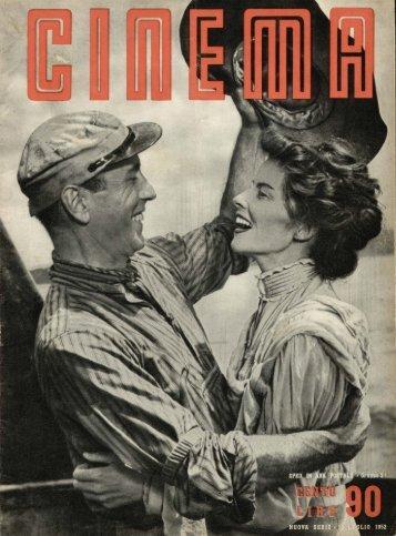 Cinema 1952 numero 90 - Holmes