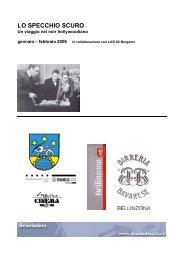 LO SPECCHIO SCURO - Circolo del Cinema di Bellinzona