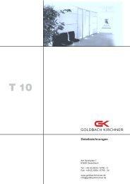Produkt-beschreibung T10