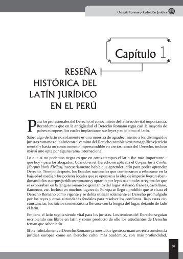 Latín Jurídico - EGACAL
