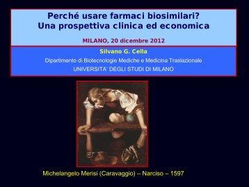 Perché usare farmaci biosimilari? Una prospettiva ... - ASL Pavia
