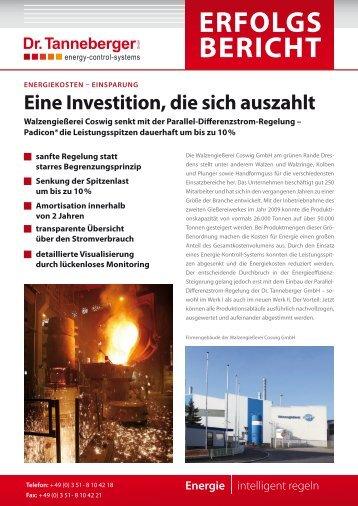 Erfolgs bEricht - Dr. Tanneberger GmbH