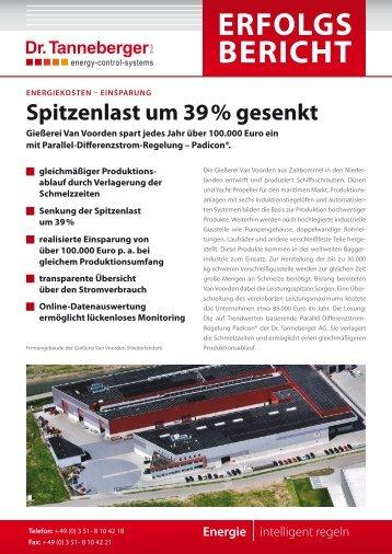 Gießerei Van Voorden - Dr. Tanneberger GmbH