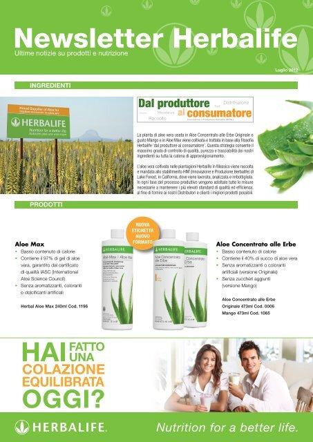 Newsletter Herbalife - Herbalife Today Magazine