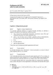 Ordinanza del DFI sulle bevande alcoliche 817.022.110 - admin.ch