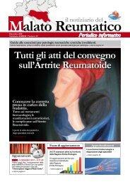 Tutti gli atti del convegno sull'Artrite Reumatoide - AMRER ...