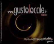 gustolocale, rivista gennaio 2009