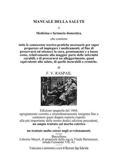 Manuale Della Salute Ugobecciani It