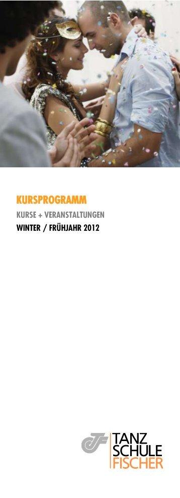KURSPROGRAMM - Tanzschule Fischer