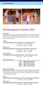 Zusammenfassung der Tanzkurse - Tanzschule Brigitte Rühl - Seite 7
