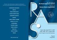 The Renin-Angiotensin System - Aristea