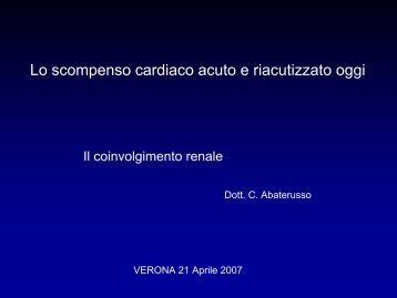 Il coinvolgimento renale - Cuorediverona.it