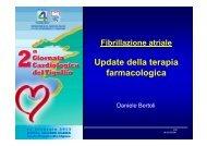 Update della terapia farmacologica - ASL n. 4 Chiavarese