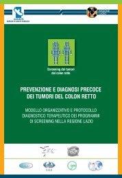 Modello organizzativo e protocollo diagnostico-terapeutico