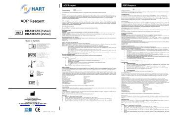ADP Reagent - Hart Biologicals