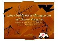 Linee Guida per il Management del Dolore ... - TimeOut intensiva