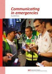 Communicating in emergencies