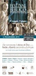 Programma PDF - Festival Biblico